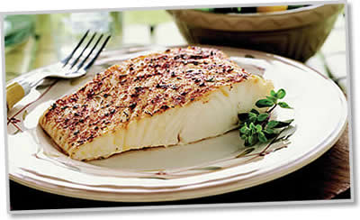 broiled pacific halibut